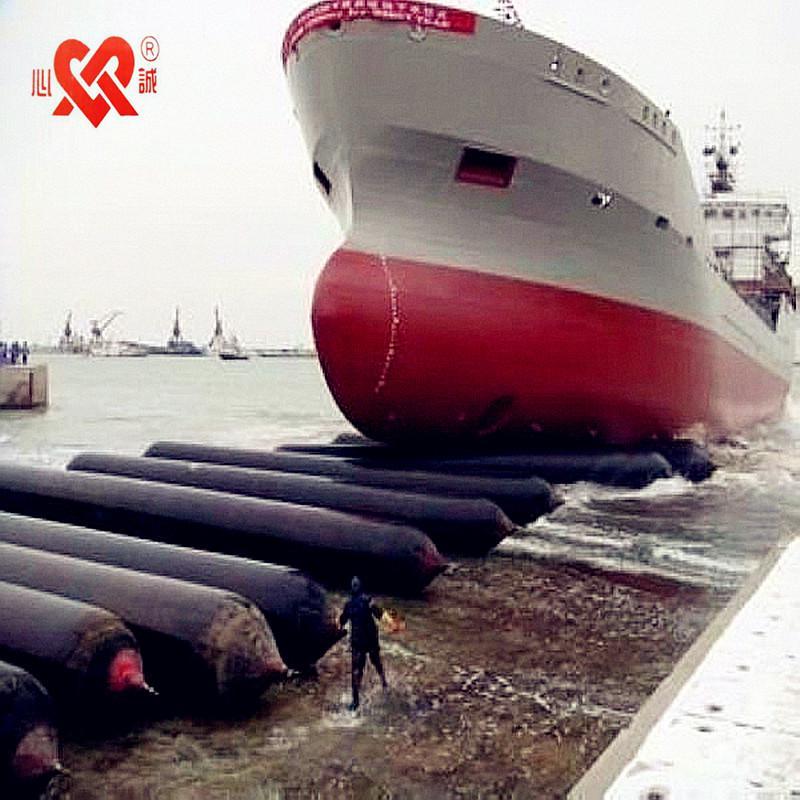 船用下水气囊在现实中的应用